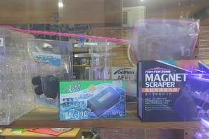 Accessories : Net, Feeder, Magnet cleaner & Isolation box etc